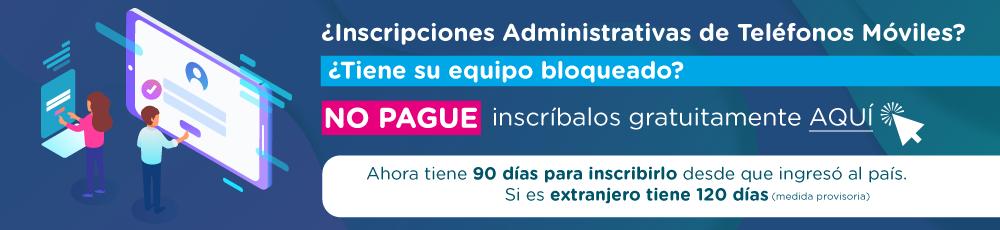 Inscripción Administrativa